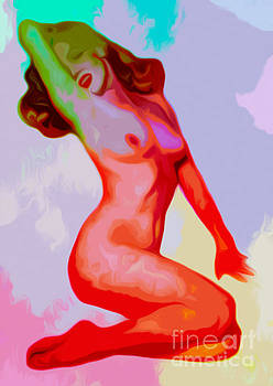 Algirdas Lukas - Colorful Nude 01 07 2015