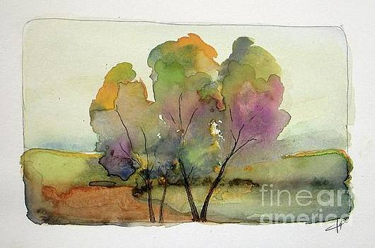 Colorful October by Vesna Antic