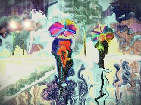Colorful Rain by Darren Cannell