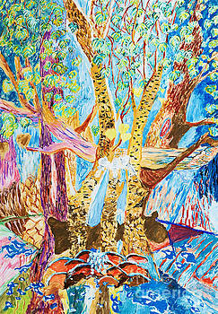 Colorful Rainforest by Art by Danielle