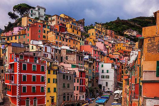 Colorful Riomaggiore by Andrew Soundarajan