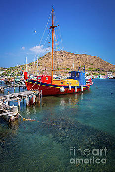 Colorful Ship by Inge Johnsson
