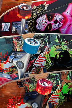 Art Block Collections - Colorful Skateboards