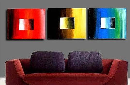 Colorful Squares by Teo Alfonso