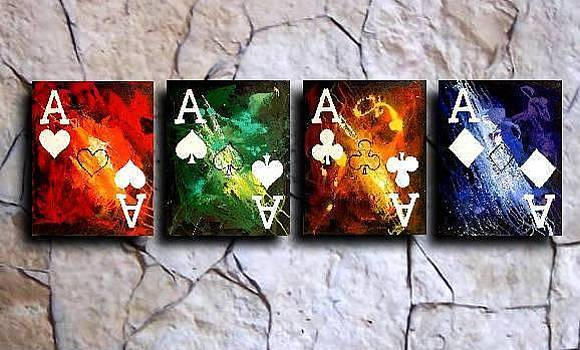 Colorful Stormy Aces by Teo Alfonso