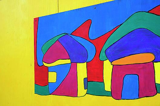 Colorful Street Art by Robert Braley