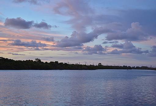 Patricia Twardzik - Colorful Sunrise over Lemon Bay