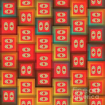 Colorful tiles by Gaspar Avila