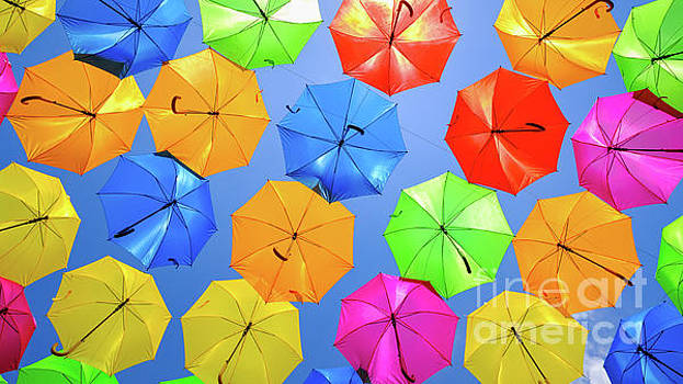 Colorful Umbrellas I by Raul Rodriguez