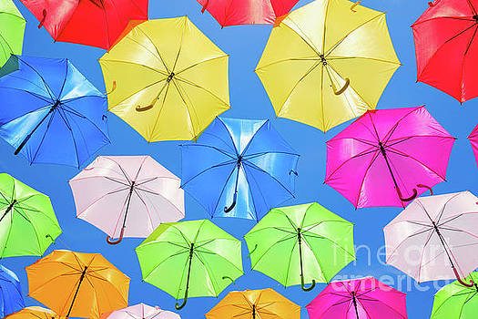 Colorful Umbrellas II by Raul Rodriguez