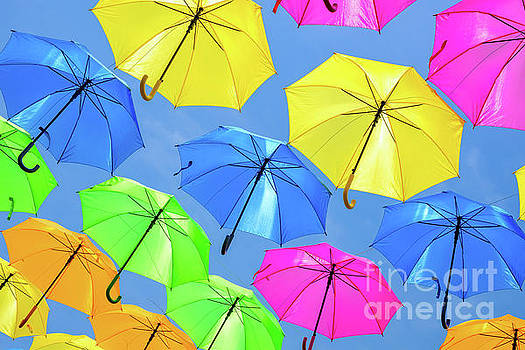 Colorful Umbrellas III by Raul Rodriguez