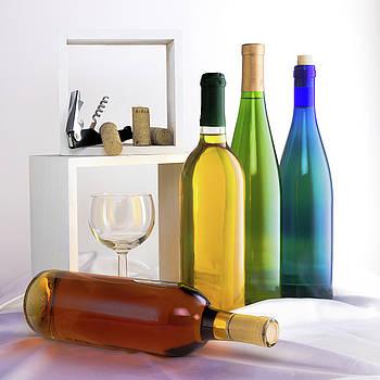 Tom Mc Nemar - Colorful Wine Bottles