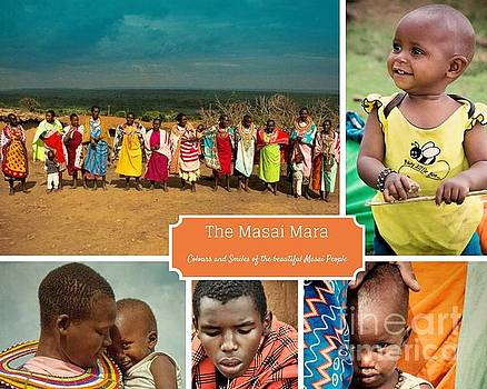 Colors and Smiles of the Masai by Karen Lewis