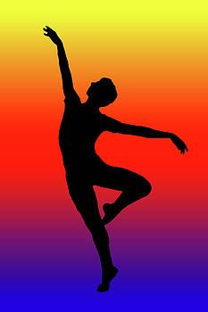 Colors Dance by Angel Jesus De la Fuente