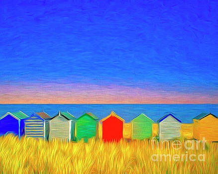 Colors of a Seaside by Edmund Nagele