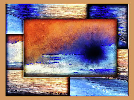 Colors Of Beach by Diane Romanello