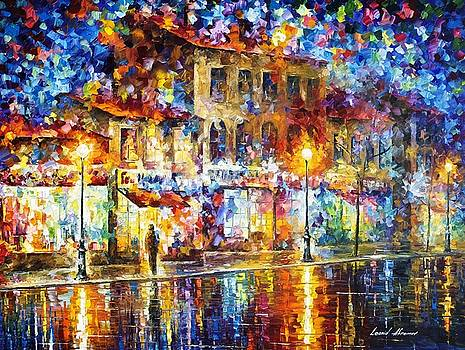 Colors Of Emotions - PALETTE KNIFE Oil Painting On Canvas By Leonid Afremov by Leonid Afremov