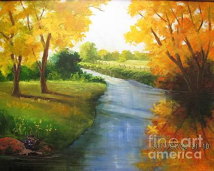 Colors of Fall by Barbara Haviland