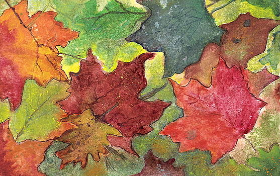 Colors of Fall by Marsha Woods