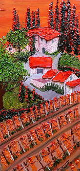 Colors Of Little Italy 1 by Portland Art Creations