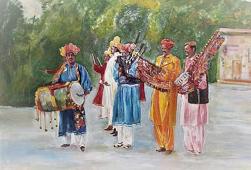Colors of Music by Khalid Saeed
