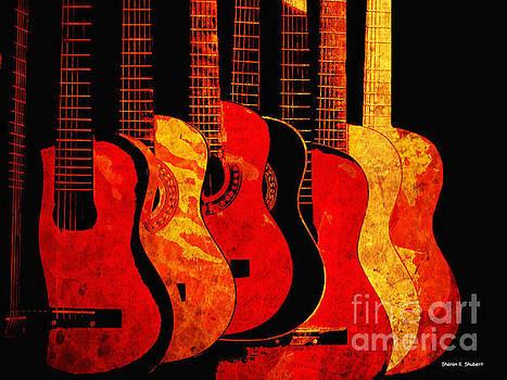Colors Of Music by Sharon K Shubert