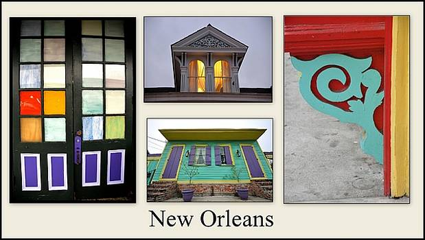 Colors Of New Orleans by Jennifer Miller