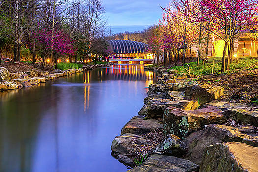 Colors of Spring at Crystal Bridges Museum of Art - Arkansas by Gregory Ballos