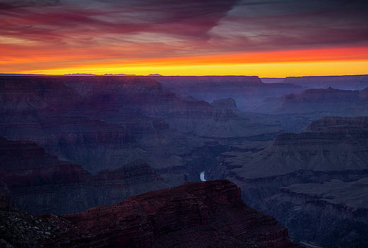 Colors of the Canyon by Andrew Soundarajan