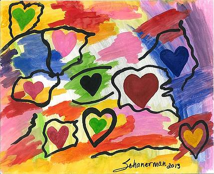 Colors Of The heART by Susan Schanerman
