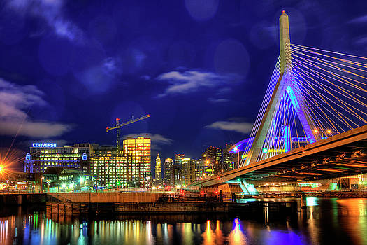 Joann Vitali - Colors of the Zakim Bridge - Boston, Ma