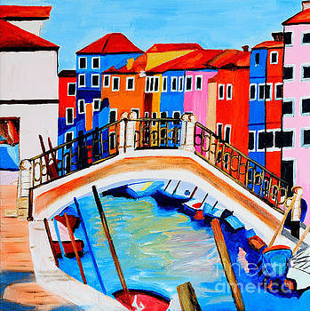 Colors of Venice Italy by Art by Danielle