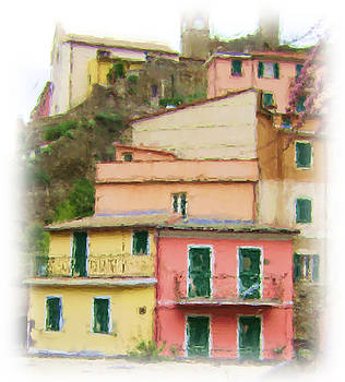 Colors of Vernazza by Lynn Andrews