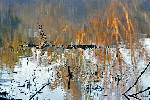 Kay Lovingood - Watercolor Pond