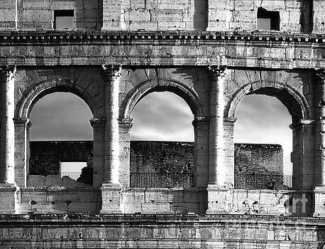 Colosseum Arched Windows by Stefano Senise