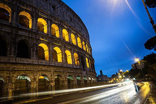 Colosseum at Dusk by Jaana Baker
