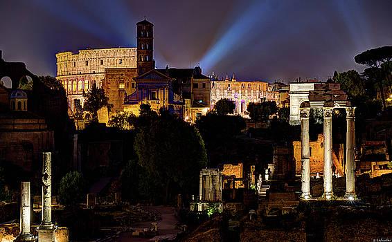 Weston Westmoreland - Colosseum at Night 2
