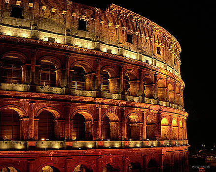 Colosseum at Night by Coleman Mattingly