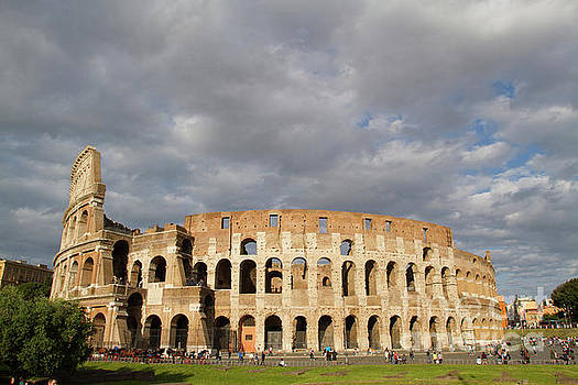Colosseum at Sunset by Denise Lilly