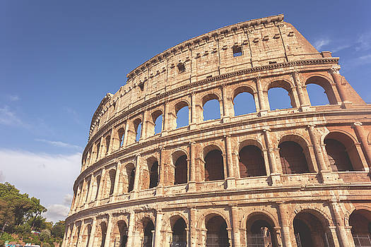 Colosseum in matte toning by Natalia Macheda
