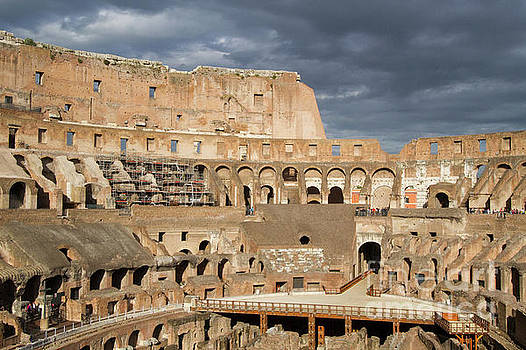 Colosseum Inside by Denise Lilly