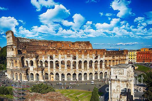 Colosseum Landscape by Stefano Senise