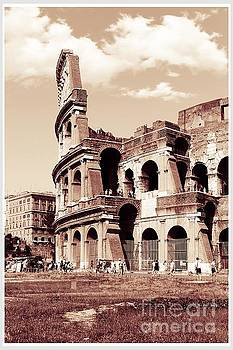 Colosseum Toned Sepia by Stefano Senise