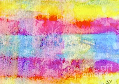 Colour field by Jessamine Barron