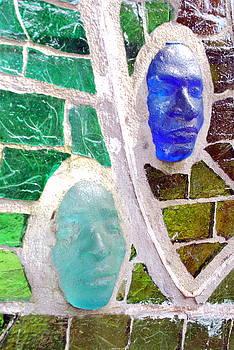 Coloured Faces by Maina  Kabiru