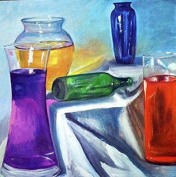 Coloured Liquids by Mohita Bhatnagar