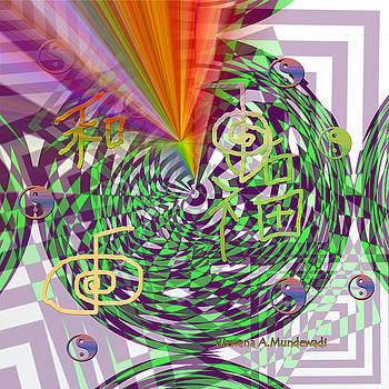Rizwana A Mundewadi - Coloured rays of Harmony