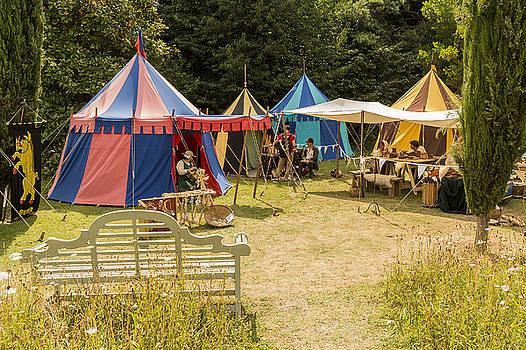 Colourful Encampment by Hazy Apple