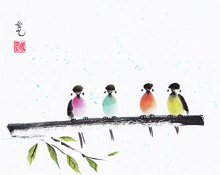 Colourful Family by Oiyee At Oystudio