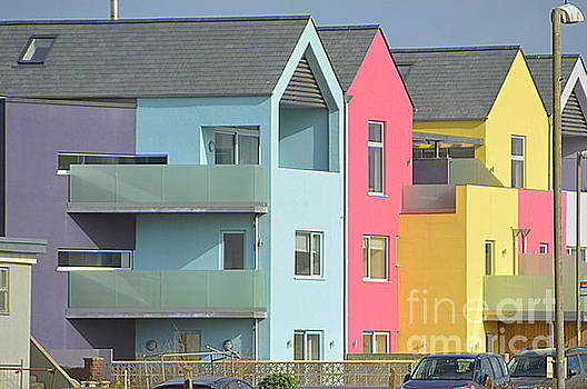 Colourful Houses by Andy Thompson